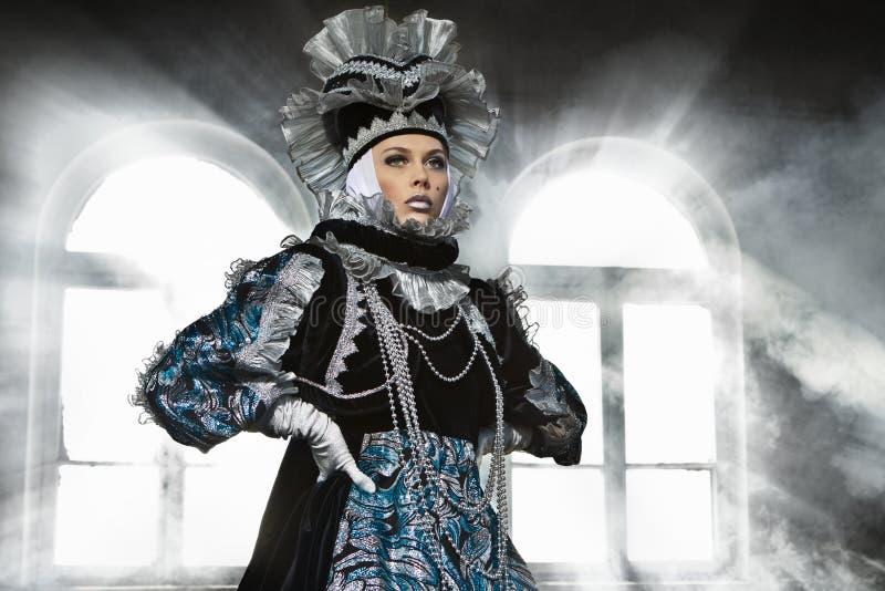Download Performers In  Venetian  Costume Stock Photos - Image: 24099803