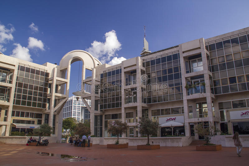 Performing Arts Center on November 24, 2012 in Tel Aviv,Israel. royalty free stock photography