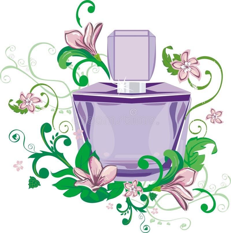 Perfume ilustração do vetor