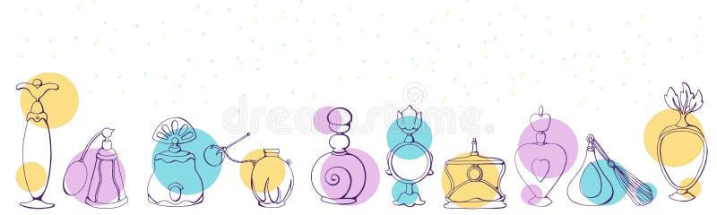 Perfume a BG III ilustración del vector