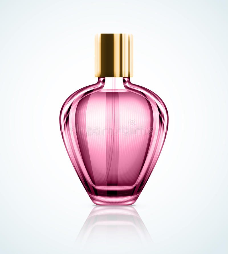 Perfume bottle royalty free illustration