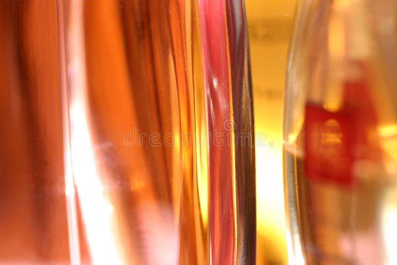 Perfume bottles royalty free stock photo