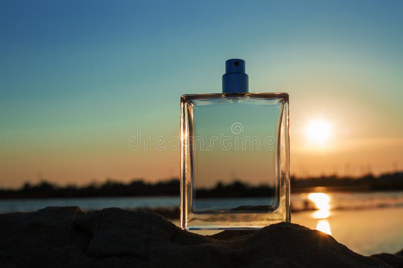 Male perfume royalty free stock images