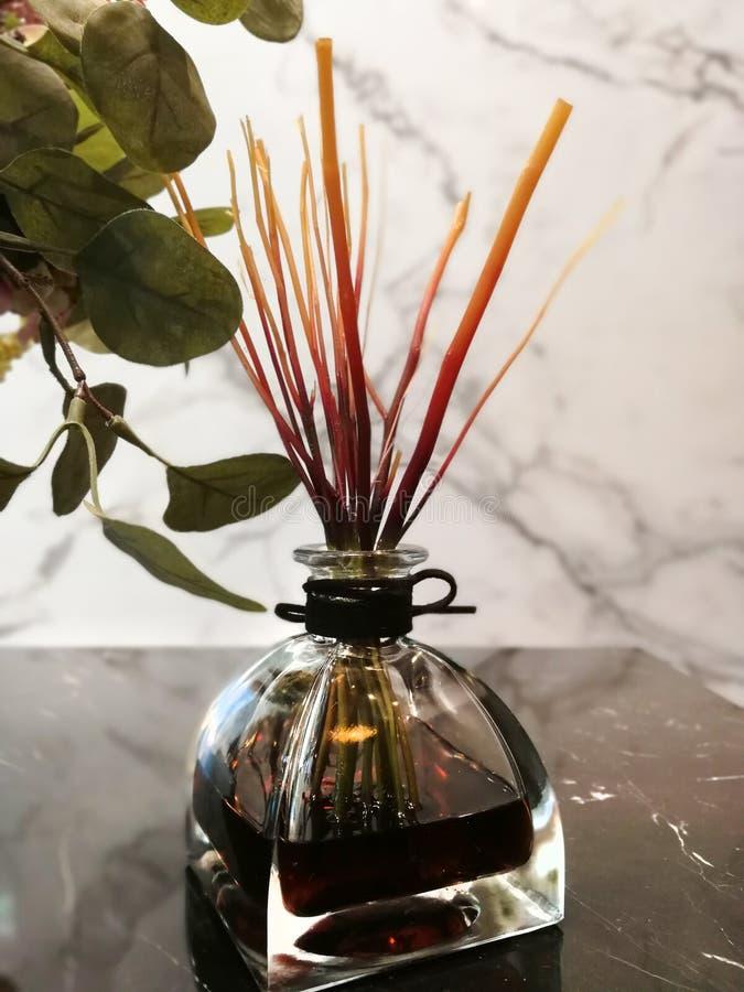 Perfume de condicionamiento fotografía de archivo libre de regalías
