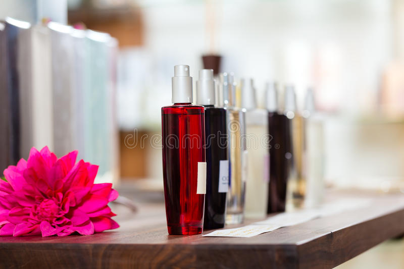 Download Perfume In Drugstore Or Shop Royalty Free Stock Image - Image: 26869026