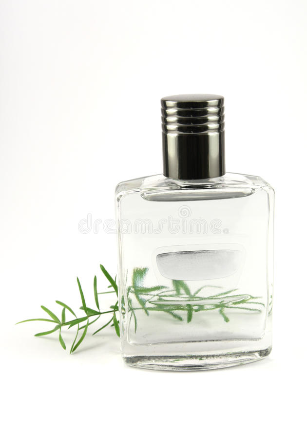 Perfume flask with cologne