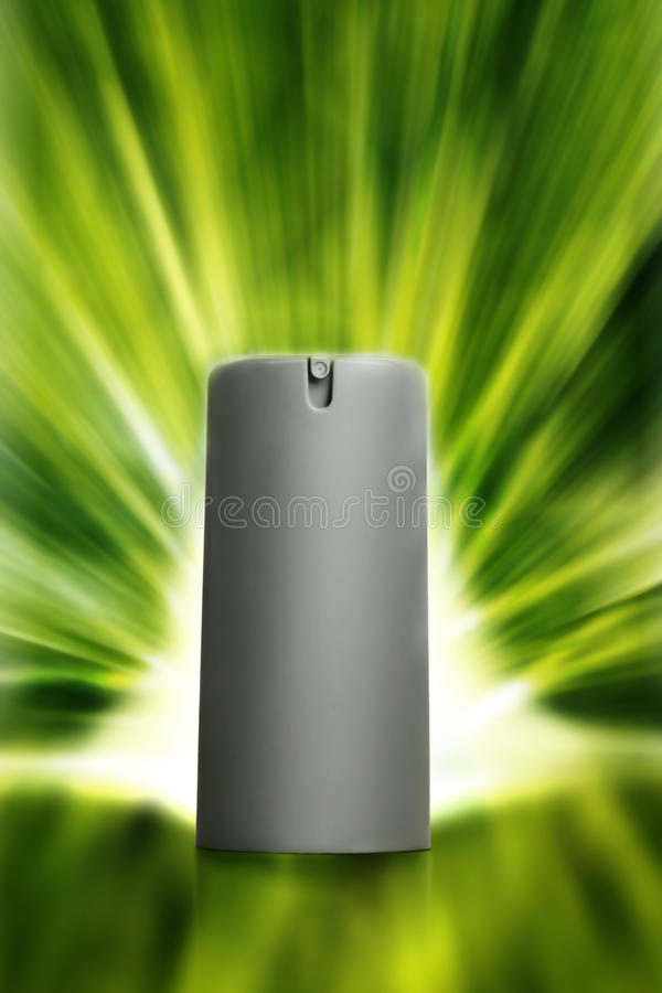 Download Perfume green stock image. Image of bottle, gray, isolated - 20355643