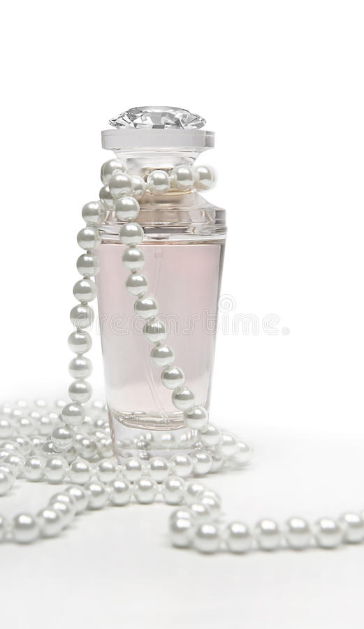 Download Perfume and pearls stock photo. Image of jewelry, beauty - 17088568