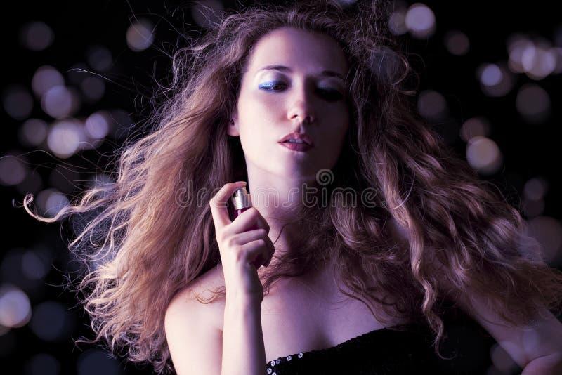 Perfume sensual imagenes de archivo