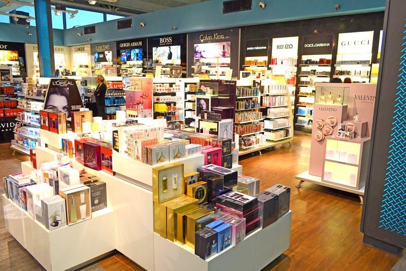 Perfume Shop stock image