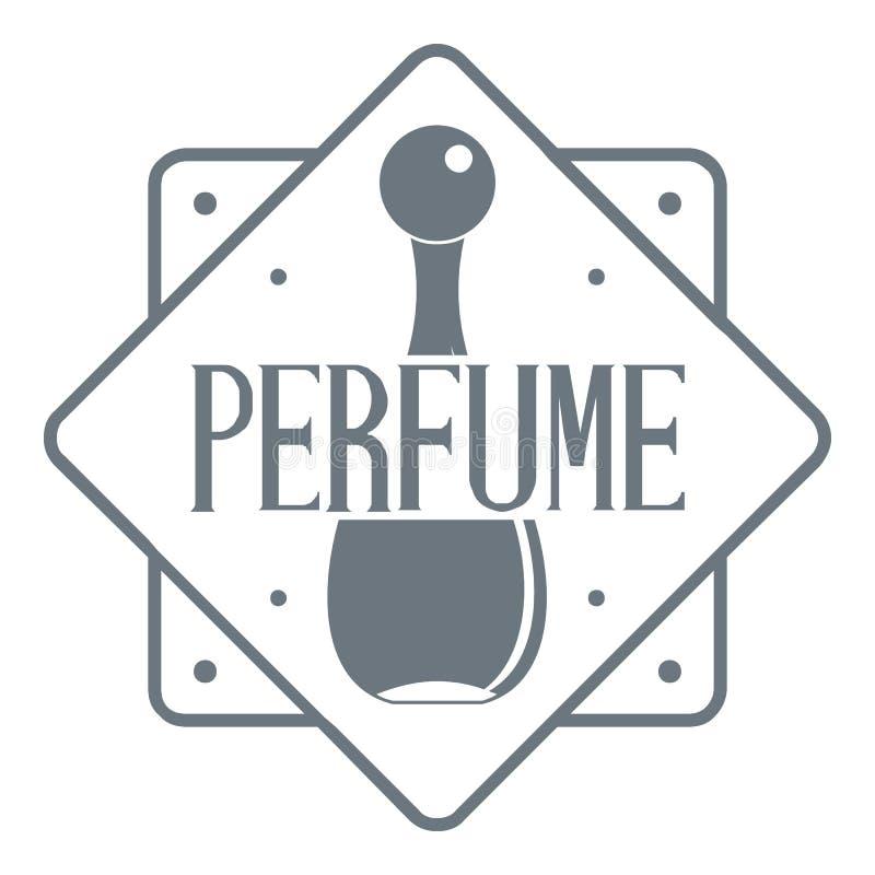Luxury Style Floral Perfume Logo:  Perfume Shop Logo , Vintage Style Stock Vector