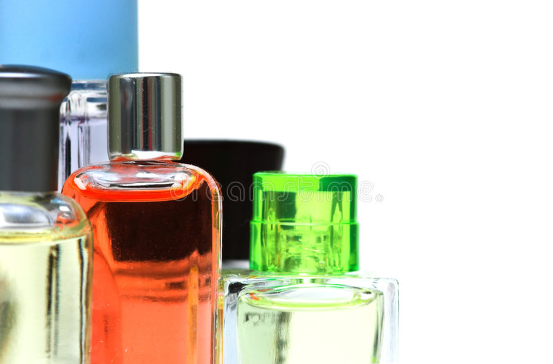 Perfumes stock images