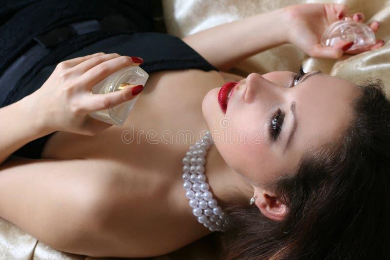Perfumes fotografia de stock