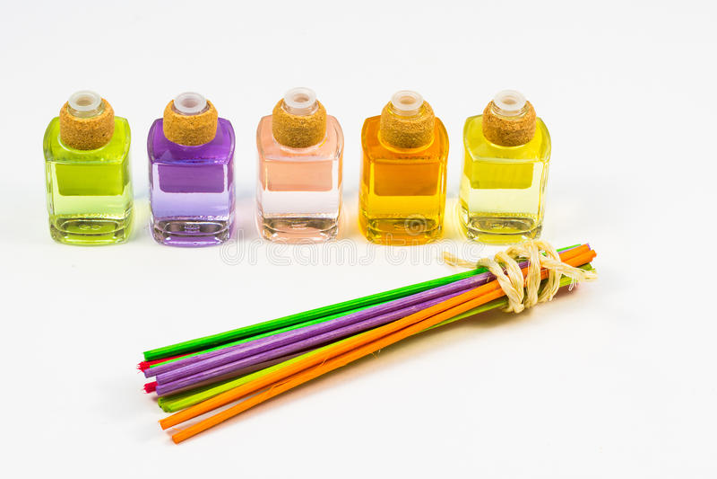 Perfumowy nafciany lotniczy freshener obrazy stock