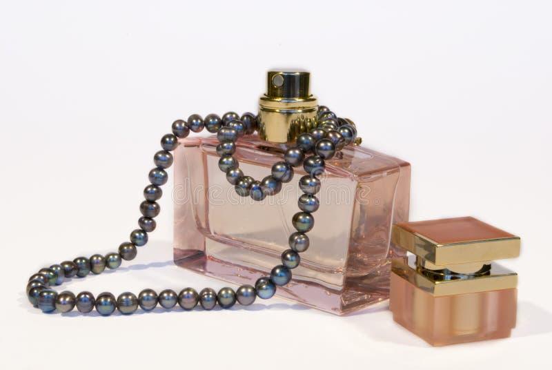 perfumy perły? obraz stock