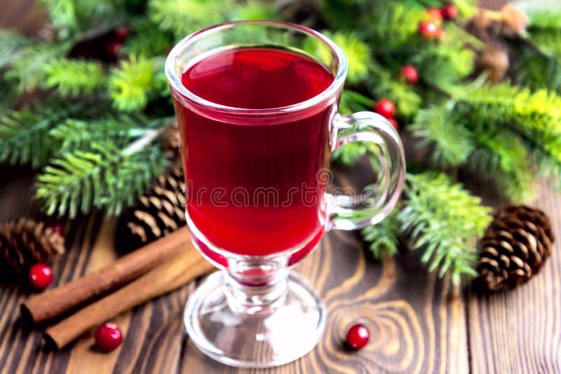 Perfurador quente do Natal imagem de stock