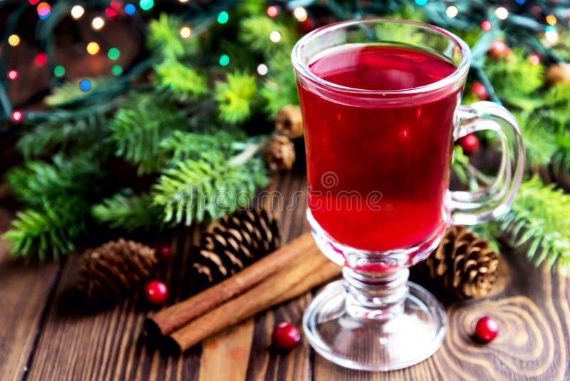 Perfurador quente do Natal fotos de stock