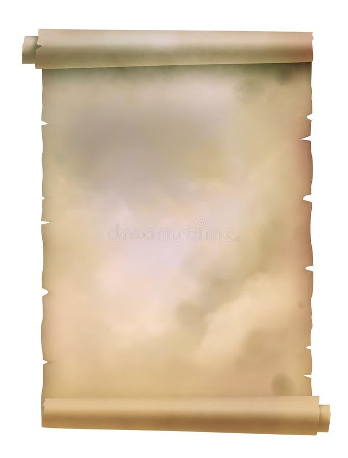Pergamena illustrazione di stock