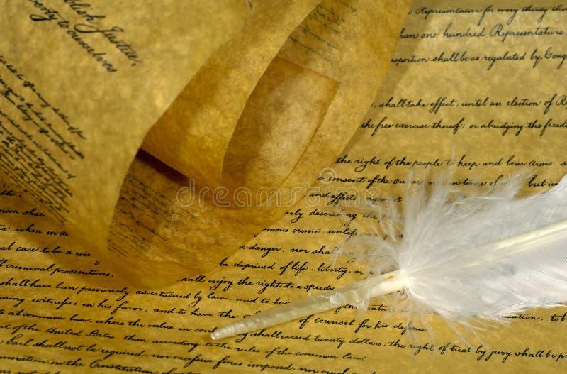 Pergamena fotografie stock libere da diritti