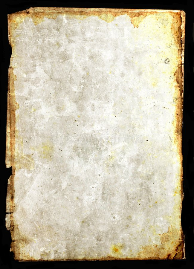 Pergamena di carta dell'annata illustrazione vettoriale