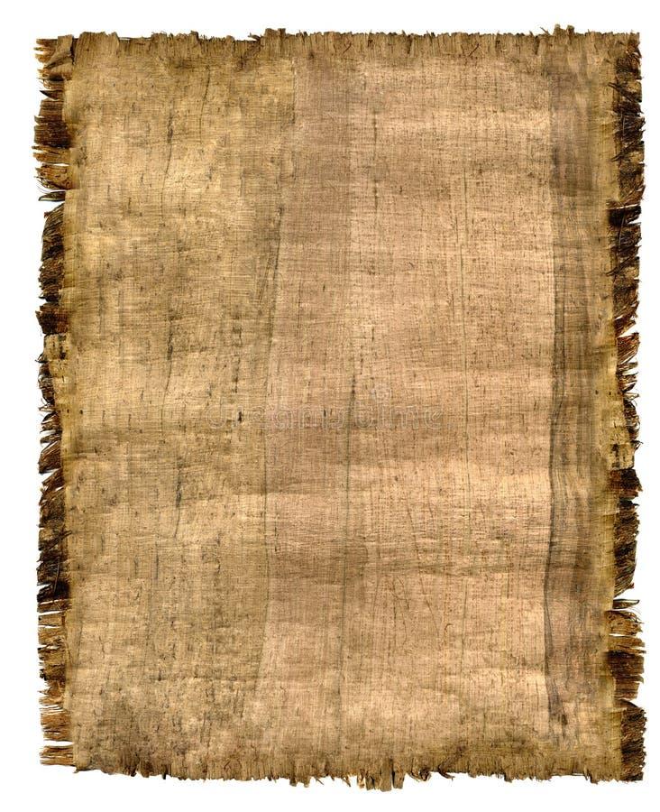 Pergament stock abbildung