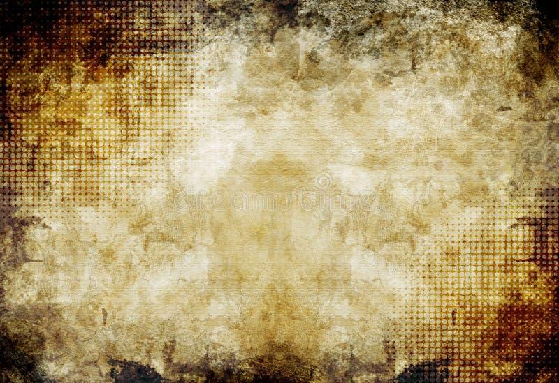 Pergament-strukturierter Hintergrund vektor abbildung