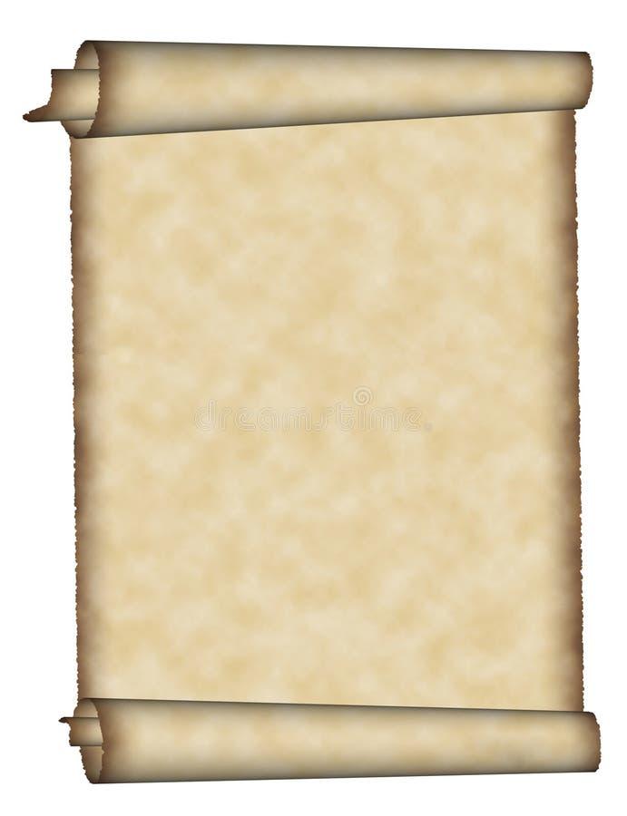pergamin ilustracja wektor