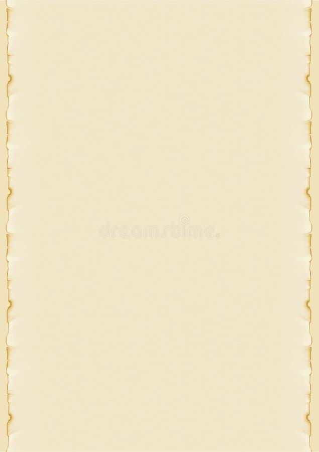 Pergamin fotografia stock