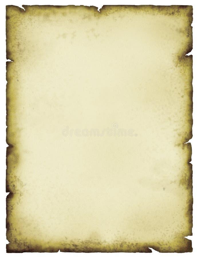 Pergaminho Foto de Stock