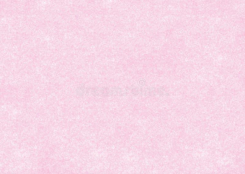 Pergaminho cor-de-rosa ilustração royalty free