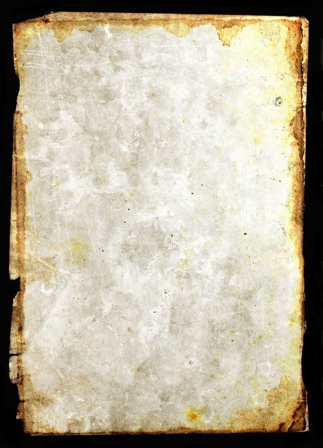 Pergaminho de papel do vintage ilustração do vetor