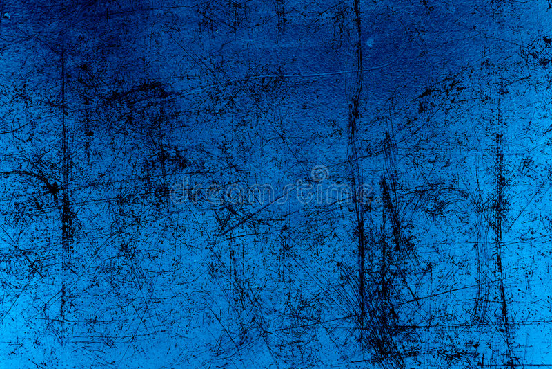 Pergamino Textured Azul Foto de archivo