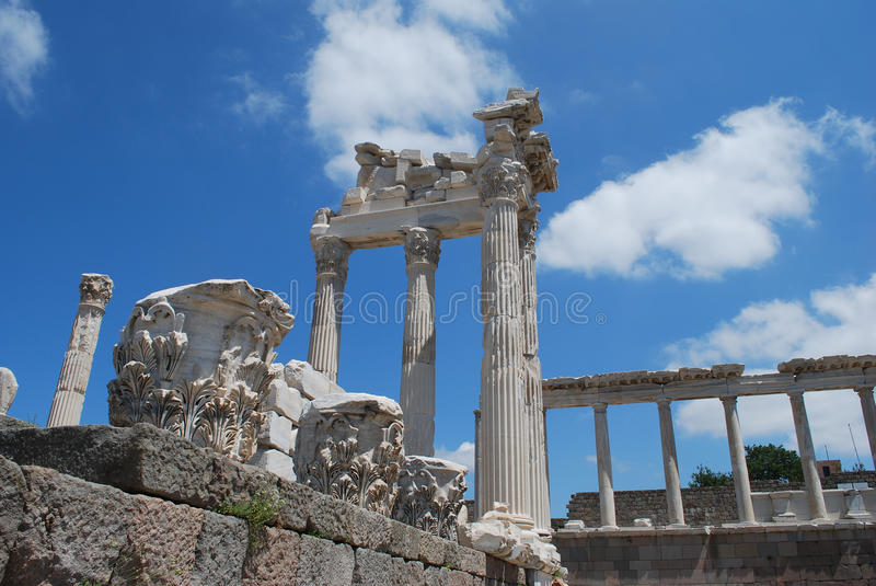 Pergamon royalty free stock images