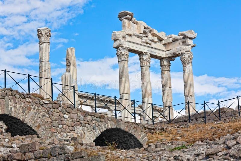 Pergamon imagem de stock