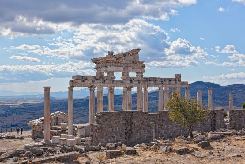 Pergamon foto de stock