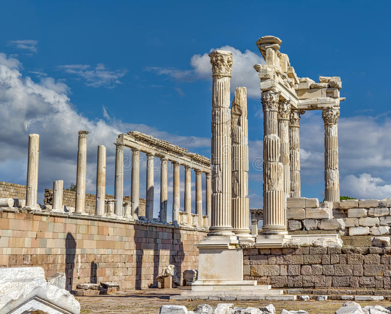 Pergamon imagens de stock royalty free