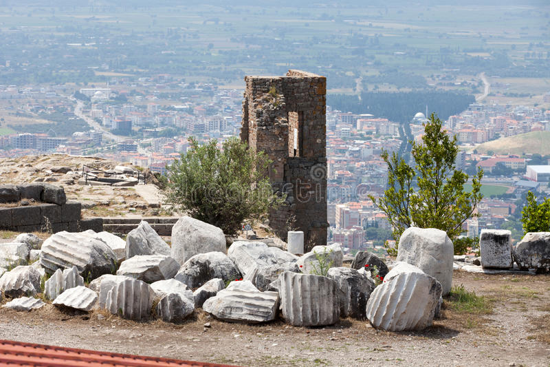 Pergamon immagine stock
