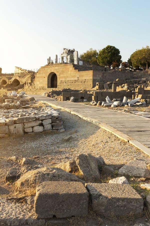 Pergamon Acropolis royalty free stock image