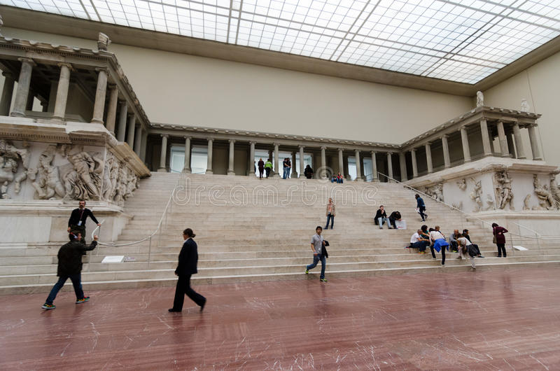 Pergamon Altar stock images