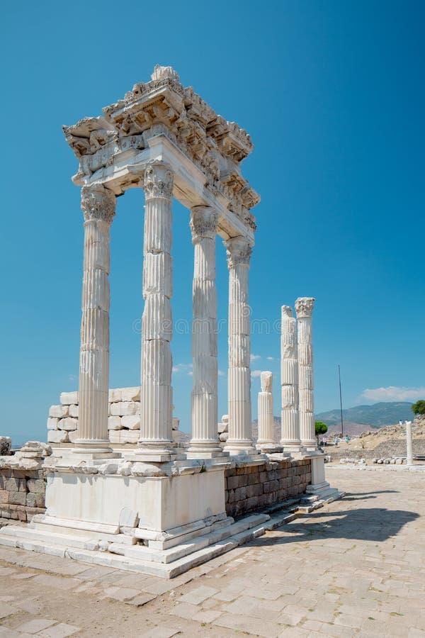 Pergamon Amphiteater fotos de stock