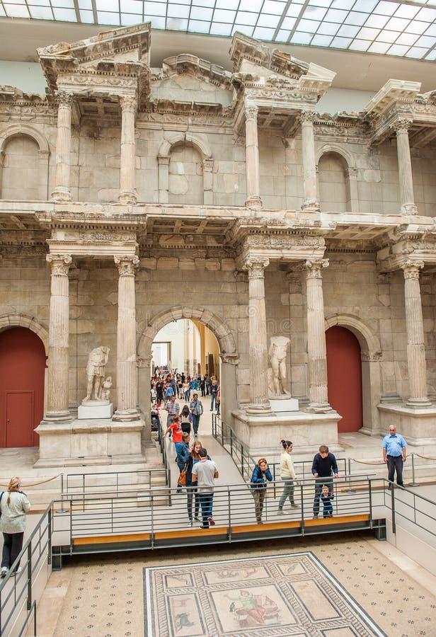 Pergamon-Museum in Berlin lizenzfreie stockbilder