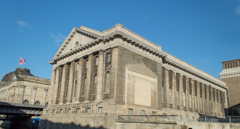 Pergamon museum Berlin royaltyfri foto