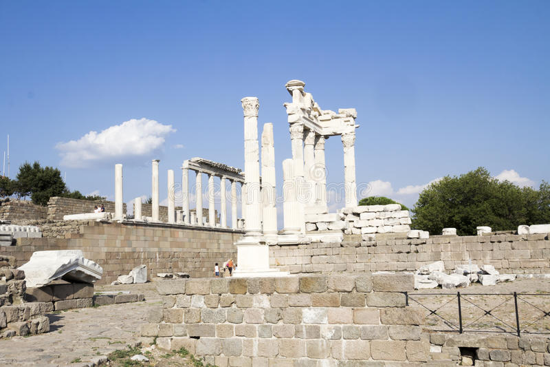 Pergamon, Turchia fotografia stock