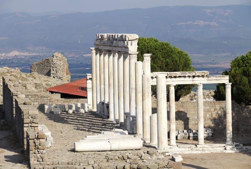 Pergamon, Turchia fotografia stock libera da diritti