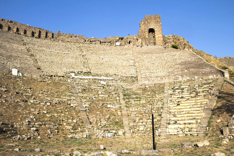 Pergamum fotografia stock libera da diritti