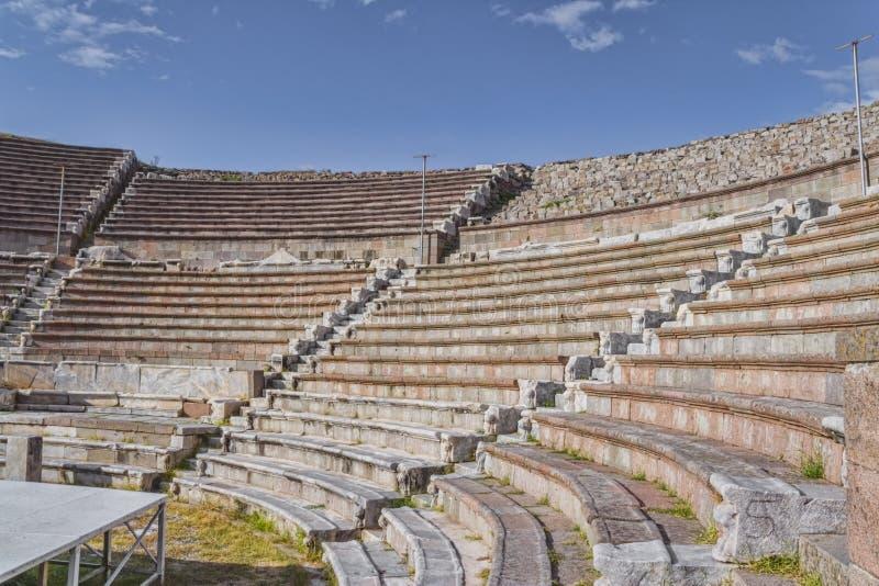 Pergamum - Asklepion romains photo stock