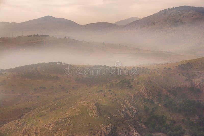 Pergamum, Izmir, Turkije: Vast Mountain Range (Bergama, Izmir, Turkije) royalty-vrije stock fotografie
