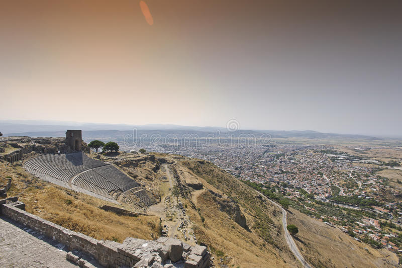 Pergamum-Turquia fotos de stock
