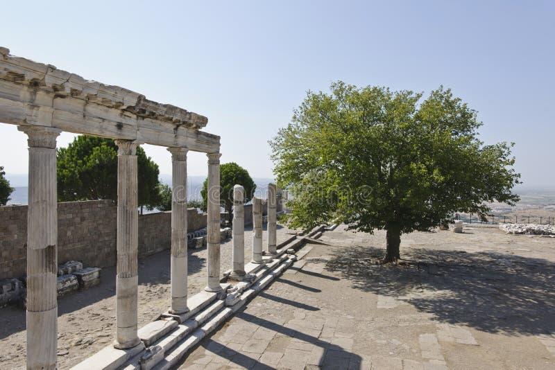 Pergamum-Turquia foto de stock royalty free