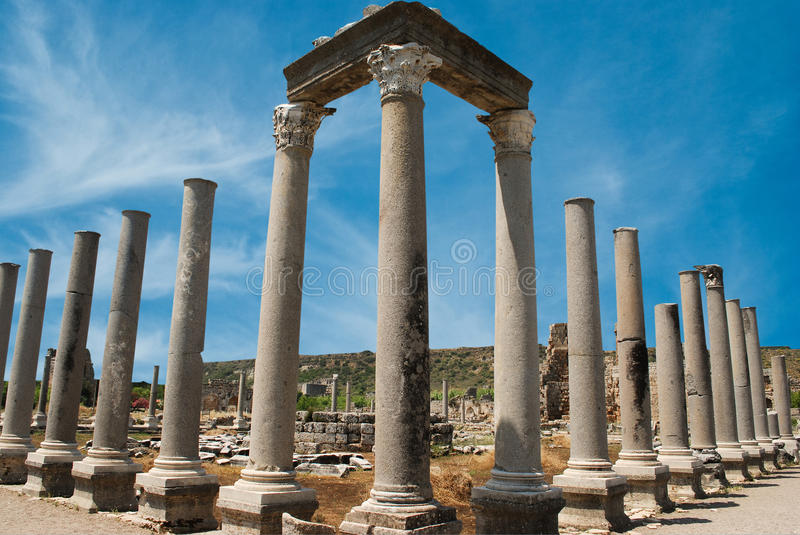Perge royalty free stock image